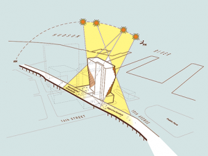 Studio Gang Architects – Solar Carve Tower