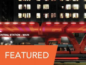 Neil M. Denari Architects – Central Station<br />Traveling Exhibition Selected Entry